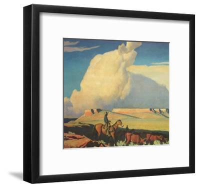 Open Range, 1942-Maynard Dixon-Framed Giclee Print