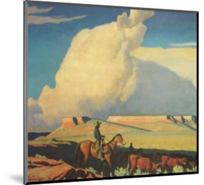 Open Range, 1942-Maynard Dixon-Mounted Giclee Print