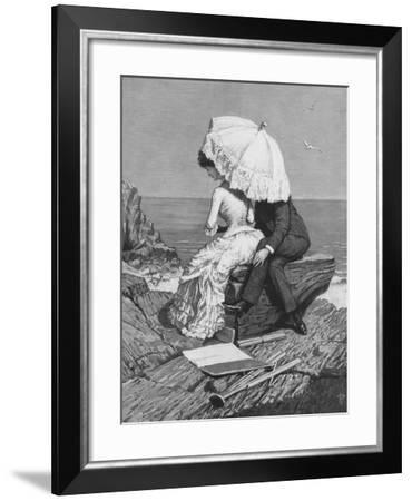 Victorian Romance, 1886-Percy Tarrant-Framed Giclee Print