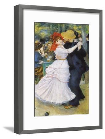 Dance at Bougival, 1883-Pierre-Auguste Renoir-Framed Premium Giclee Print