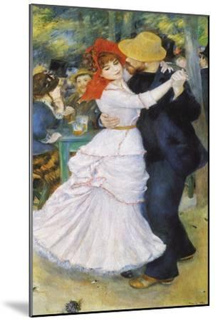 Dance at Bougival, 1883-Pierre-Auguste Renoir-Mounted Premium Giclee Print