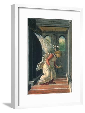 The Annunciation, 1480-Sandro Botticelli-Framed Giclee Print