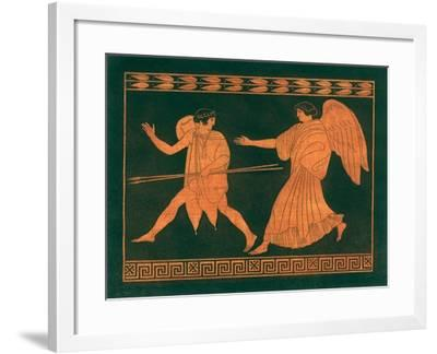 Diana and Angel-Sir William Hamilton-Framed Giclee Print