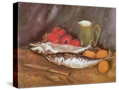 Still Life with Mackerel, 1886-Vincent van Gogh-Stretched Canvas Print