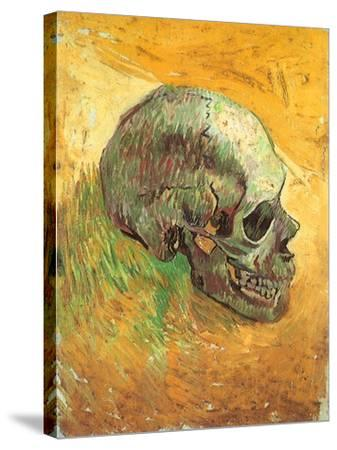 Skull in Profile, 1887-Vincent van Gogh-Stretched Canvas Print