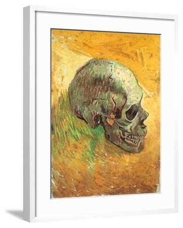 Skull in Profile, 1887-Vincent van Gogh-Framed Giclee Print