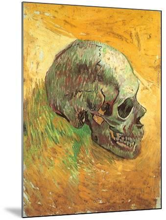 Skull in Profile, 1887-Vincent van Gogh-Mounted Giclee Print