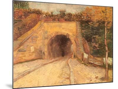 Walking Thru Viaduct, 1887-Vincent van Gogh-Mounted Giclee Print