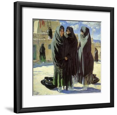 Taos Girls, 1916-Walter Ufer-Framed Giclee Print