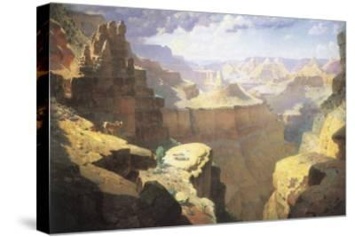 Grand Canyon, 1911-William Robinson Leigh-Stretched Canvas Print