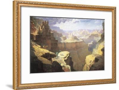 Grand Canyon, 1911-William Robinson Leigh-Framed Giclee Print