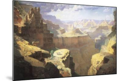 Grand Canyon, 1911-William Robinson Leigh-Mounted Giclee Print