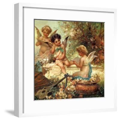 Angel Trio, 1859--Framed Giclee Print