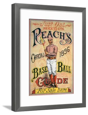 Reach's Official Baseball Guide, 1896--Framed Giclee Print