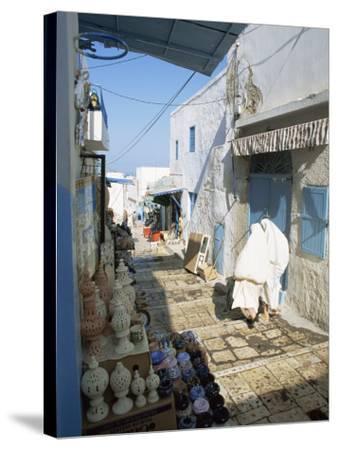 Medina, Sousse, Tunisia, North Africa, Africa-Julia Bayne-Stretched Canvas Print