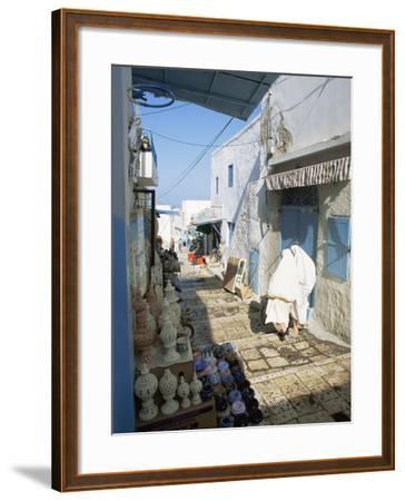 Medina, Sousse, Tunisia, North Africa, Africa-Julia Bayne-Framed Photographic Print
