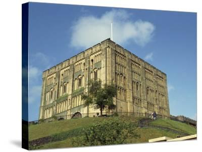 Norwich Castle, Norwich, Norfolk, England, United Kingdom, Europe-Charcrit Boonsom-Stretched Canvas Print