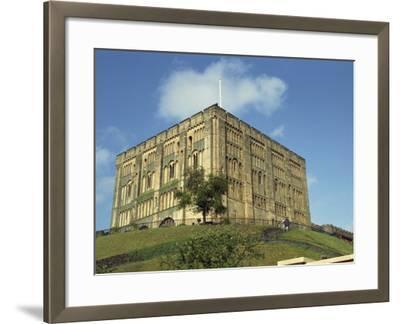 Norwich Castle, Norwich, Norfolk, England, United Kingdom, Europe-Charcrit Boonsom-Framed Photographic Print