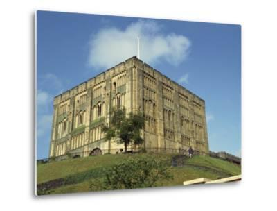 Norwich Castle, Norwich, Norfolk, England, United Kingdom, Europe-Charcrit Boonsom-Metal Print