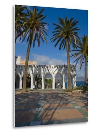 Balcon De Europa, Nerja, Costa Del Sol, Andalucia, Spain, Europe-Charles Bowman-Metal Print