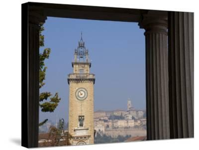 Bergamo, Lombardy, Italy, Europe-Charles Bowman-Stretched Canvas Print