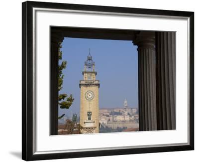Bergamo, Lombardy, Italy, Europe-Charles Bowman-Framed Photographic Print
