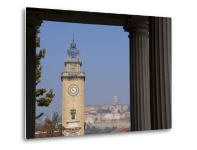 Bergamo, Lombardy, Italy, Europe-Charles Bowman-Metal Print
