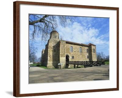 Colchester Castle, the Oldest Norman Keep in the U.K., Colchester, Essex, England, UK-Jeremy Bright-Framed Photographic Print