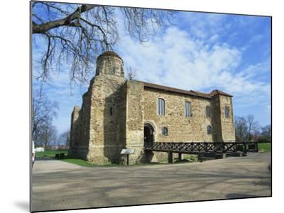 Colchester Castle, the Oldest Norman Keep in the U.K., Colchester, Essex, England, UK-Jeremy Bright-Mounted Photographic Print