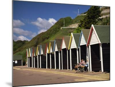 West Cliff, Bournemouth, Dorset, England, UK-Pearl Bucknall-Mounted Photographic Print