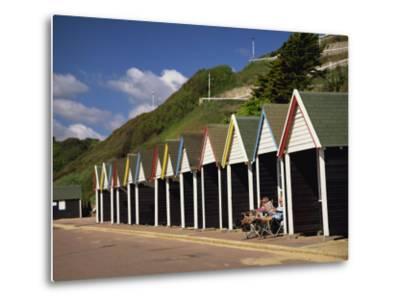 West Cliff, Bournemouth, Dorset, England, UK-Pearl Bucknall-Metal Print