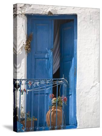 Chora, Mykonos, Cyclades Islands, Greek Islands, Greece, Europe-Angelo Cavalli-Stretched Canvas Print