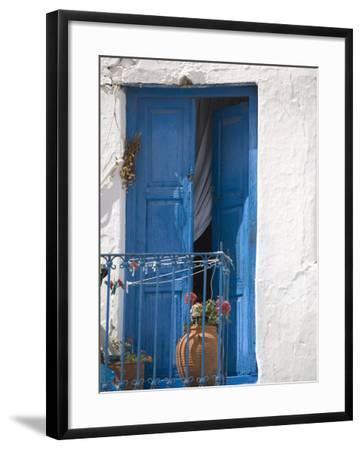 Chora, Mykonos, Cyclades Islands, Greek Islands, Greece, Europe-Angelo Cavalli-Framed Photographic Print