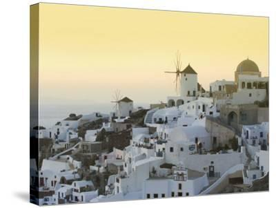 Oia, Santorini, Cyclades Islands, Greek Islands, Greece, Europe-Angelo Cavalli-Stretched Canvas Print