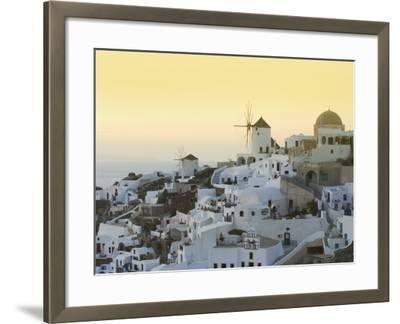 Oia, Santorini, Cyclades Islands, Greek Islands, Greece, Europe-Angelo Cavalli-Framed Photographic Print