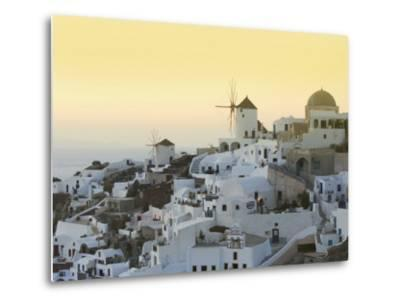 Oia, Santorini, Cyclades Islands, Greek Islands, Greece, Europe-Angelo Cavalli-Metal Print