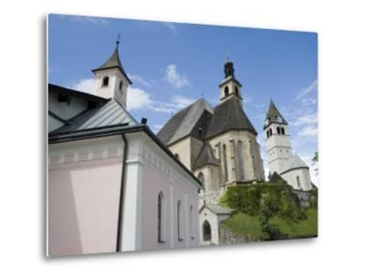 Church, Kitzbuhel, Austria, Europe-Martin Child-Metal Print