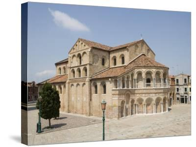 Basilica Dei Santi Maria E Donato in Murano, Venice, Veneto, Italy, Europe-Martin Child-Stretched Canvas Print