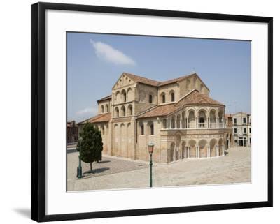 Basilica Dei Santi Maria E Donato in Murano, Venice, Veneto, Italy, Europe-Martin Child-Framed Photographic Print