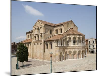 Basilica Dei Santi Maria E Donato in Murano, Venice, Veneto, Italy, Europe-Martin Child-Mounted Photographic Print