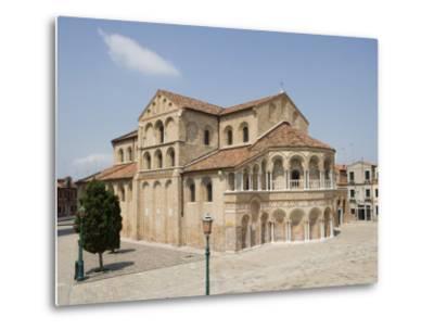Basilica Dei Santi Maria E Donato in Murano, Venice, Veneto, Italy, Europe-Martin Child-Metal Print
