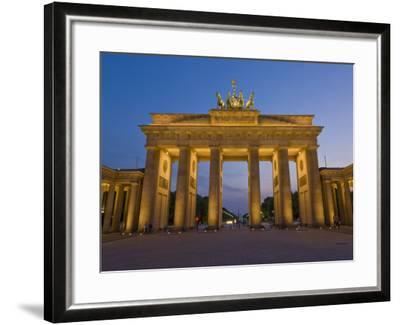 Brandenburg Gate, Pariser Platz, Berlin, Germany-Neale Clarke-Framed Photographic Print