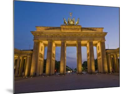 Brandenburg Gate, Pariser Platz, Berlin, Germany-Neale Clarke-Mounted Photographic Print