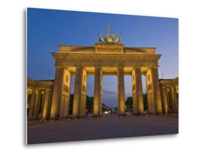 Brandenburg Gate, Pariser Platz, Berlin, Germany-Neale Clarke-Metal Print