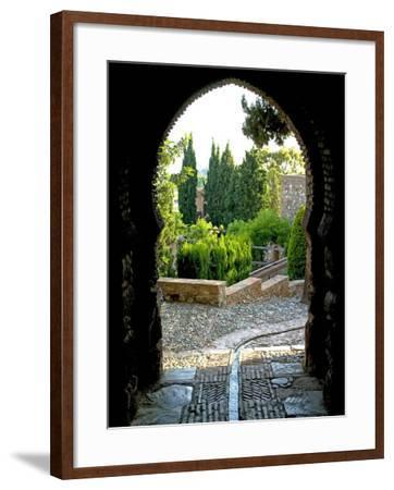 Alcazaba, Malaga, Andalucia, Spain, Europe-Marco Cristofori-Framed Photographic Print
