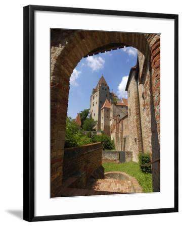 Castle Burg Trausnitz, Landshut, Bavaria, Germany, Europe-Gary Cook-Framed Photographic Print