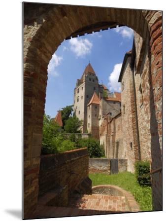 Castle Burg Trausnitz, Landshut, Bavaria, Germany, Europe-Gary Cook-Mounted Photographic Print
