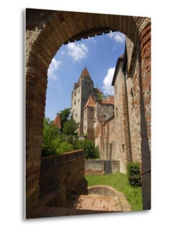 Castle Burg Trausnitz, Landshut, Bavaria, Germany, Europe-Gary Cook-Metal Print