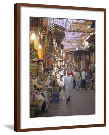 Souk, Marrakech, Morocco, North Africa, Africa-Marco Cristofori-Framed Photographic Print