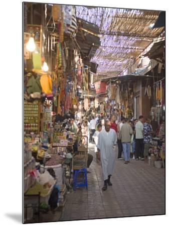 Souk, Marrakech, Morocco, North Africa, Africa-Marco Cristofori-Mounted Photographic Print